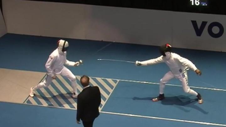 Российские шпажисты завоевали золото на этапе Кубка мира в Германии