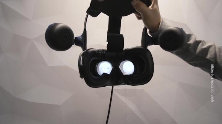 Вести.net: VR-шлем HTC Vive Pro Eye следит за глазами пользователя