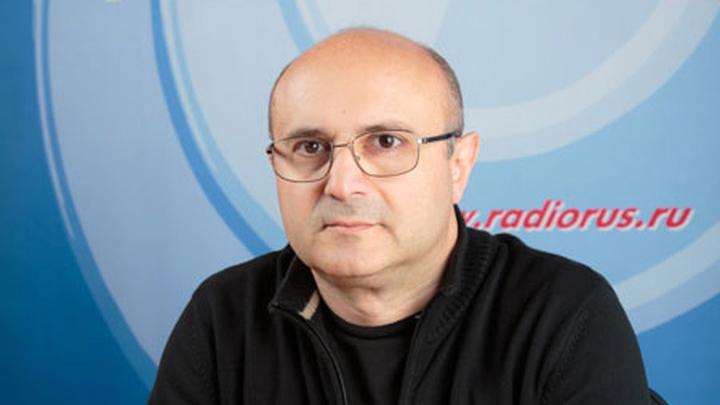 """Ведущий """"Радио России"""" - Николай Мамулашвили"""