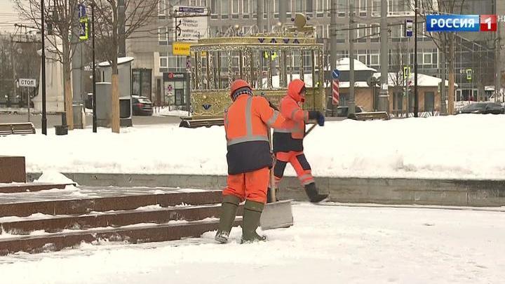 На Москву надвигается мощный снегопад