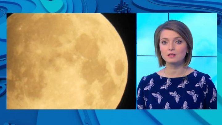 Редкое астрономическое явление: над Москвой взошла кровавая Луна