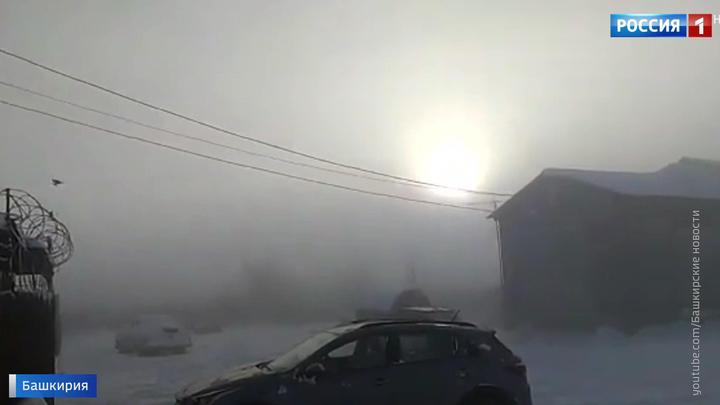 В башкирском городе Сибай вновь превышены концентрации диоксида серы