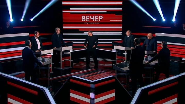 Вечер с Владимиром Соловьевым. Эфир от 21 января 2019 года