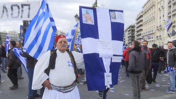 Греческий парламент начал дебаты о соглашении с Македонией по поводу её переименования