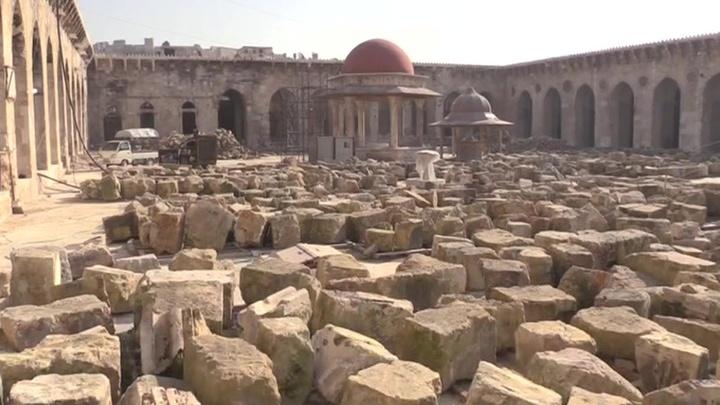 Студенты из России помогут восстанавливать памятники в Сирии
