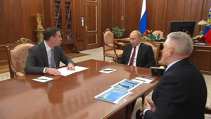 Путин обсудил ситуацию в сельском хозяйстве с главами Минсельхоза и Россельхознадзора