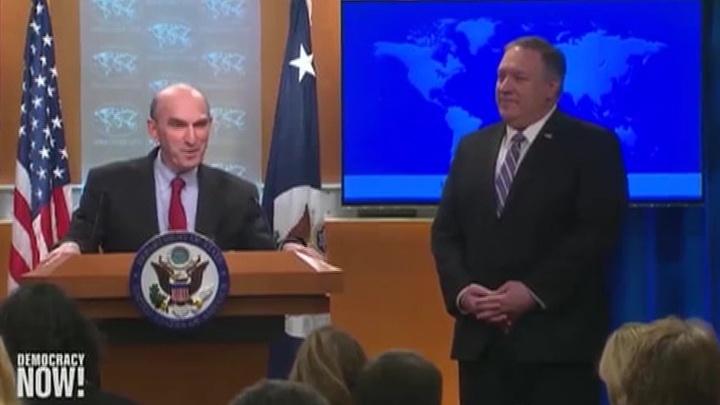 США готовы применить силу для поддержки самопровозглашенного президента Венесуэлы