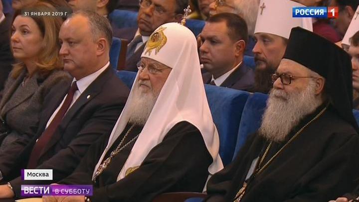 Патриарх отметил 10-летие интронизации
