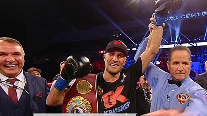 Боксер Ковалев стал чемпионом мира по версии WBO, победив Альвареса