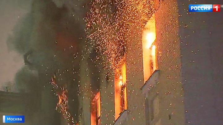 Пожар в доме знаменитостей на Никитском бульваре: возбуждено уголовное дело