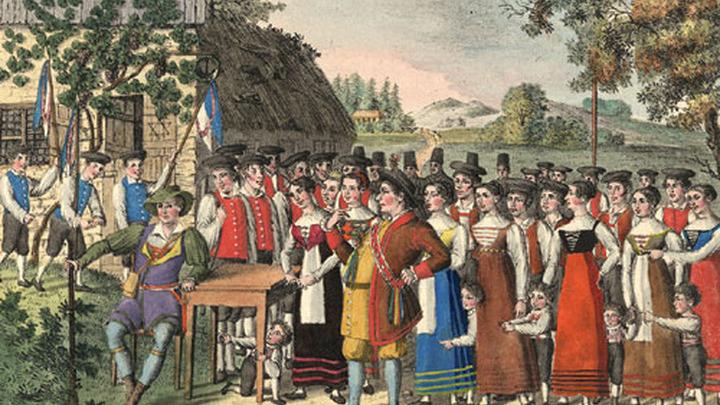 Вольный стрелок, Нюрнберг, около 1822 года