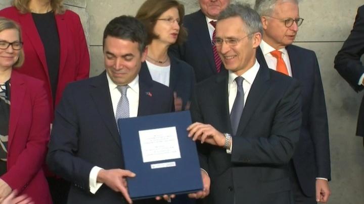 Северная Македония официально вступает в НАТО