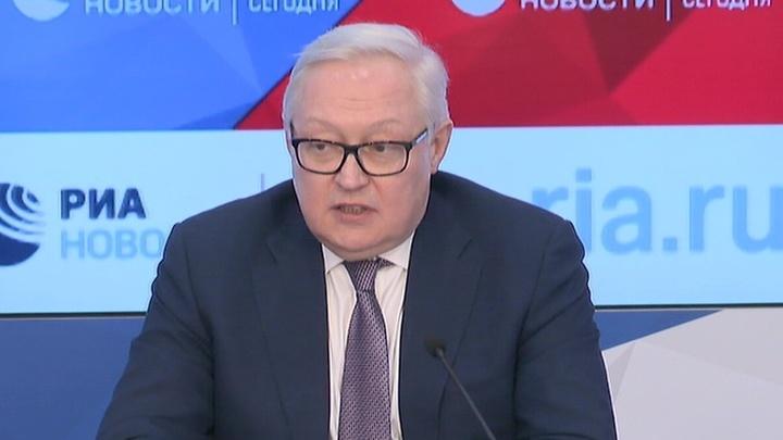 Россия ждет от США конкретизации предложений по перезаключению ДРСМД