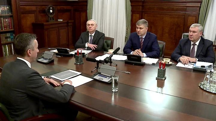Глава РЖД Олег Белозеров встретился с гендиректором Мценского литейного завода