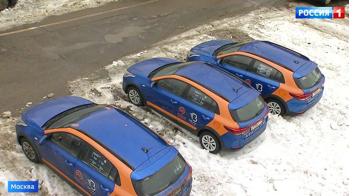 Москва выбилась в лидеры по числу каршеринговых машин