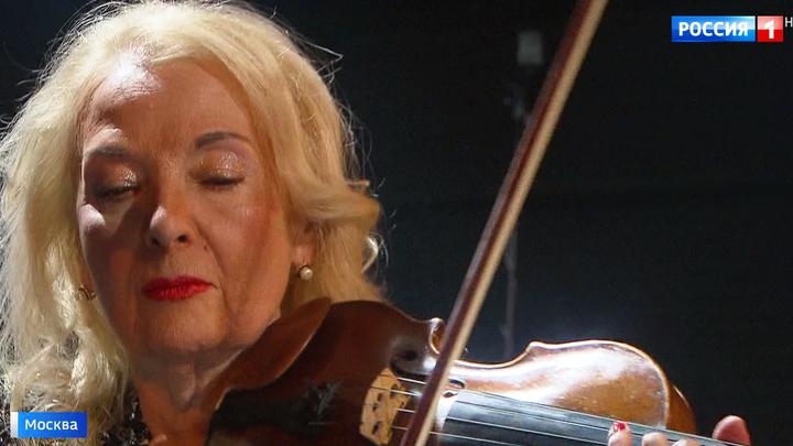 """Создательница """"Вивальди-оркестра"""" Светлана Безродная отмечает юбилей на сцене"""