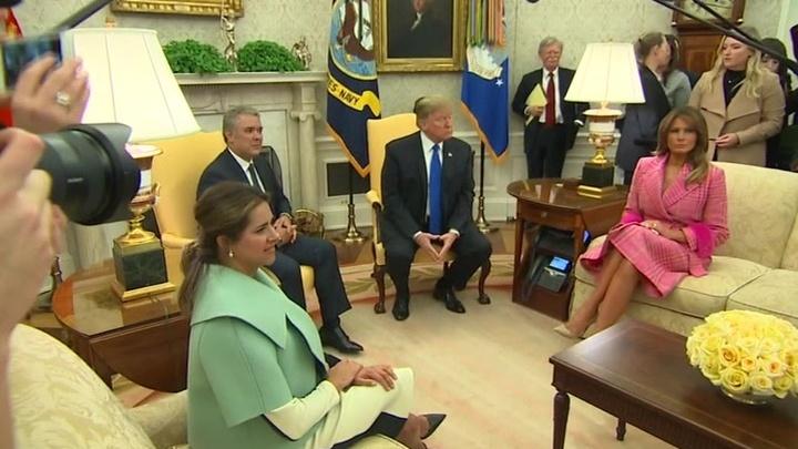 Мадуро: встреча Трампа с президентом Колумбии стала пиршеством ненависти