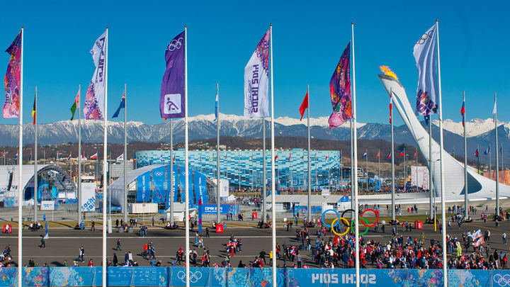 Олимпийский парк в Сочи, Россия