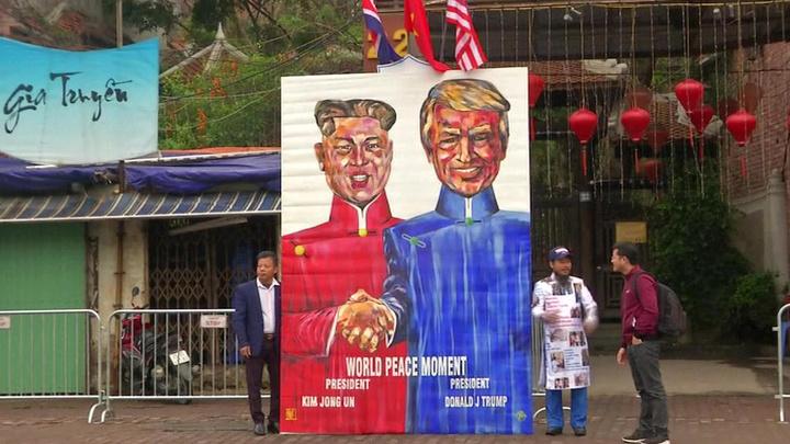 Трамп настроен оптимистично перед встречей с главой КНДР