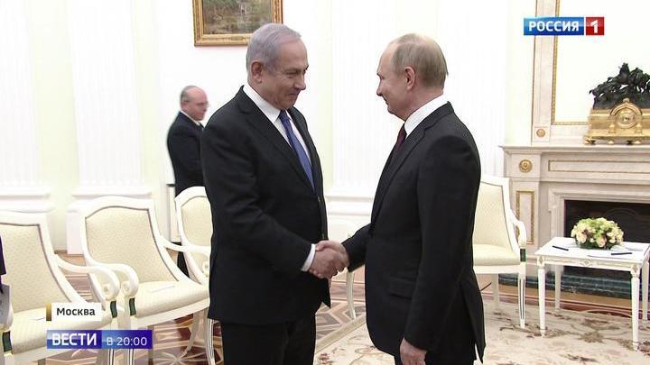 Визит Нетаньяху в Москву был отложен на неделю, но все же состоялся