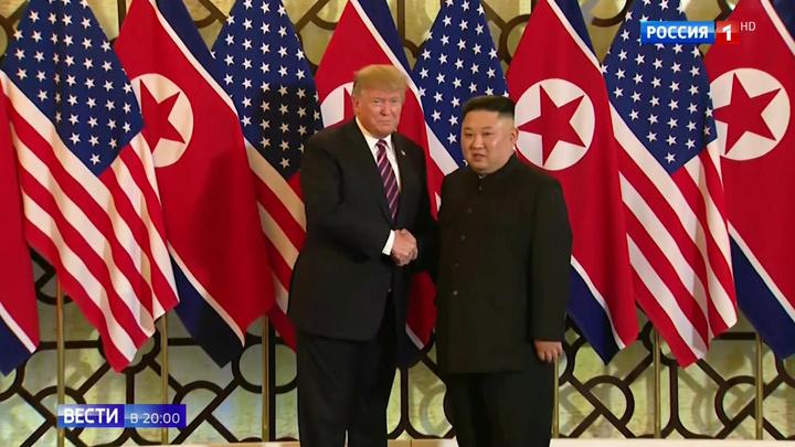 """""""Иногда лучше уйти"""": обед и ядерная сделка между Трампом и Кимом сорвались"""