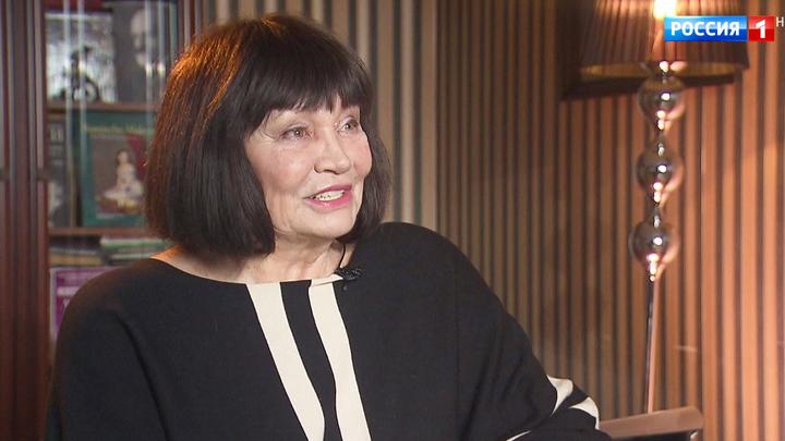 Знаменитая артистка Лариса Лужина отмечает юбилей