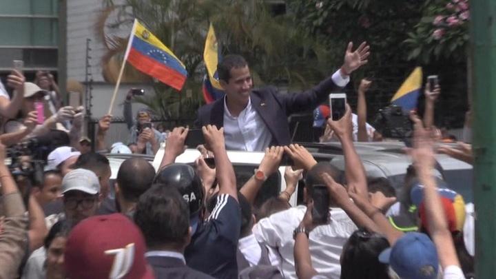 Хуан Гуайдо вернулся в Каракас
