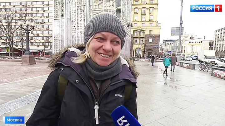 Погода скачет: в Москве резкое похолодание, гололед и сильный ветер