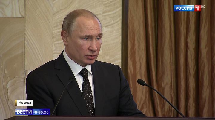 Путин: кибернаступление против России будет продолжаться
