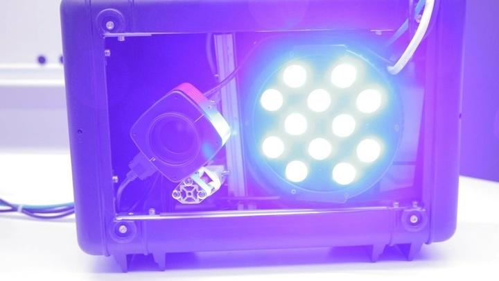 Датчик AutoDet использует для выявления загрязнений гиперспектральную визуализацию и искусственный интеллект.
