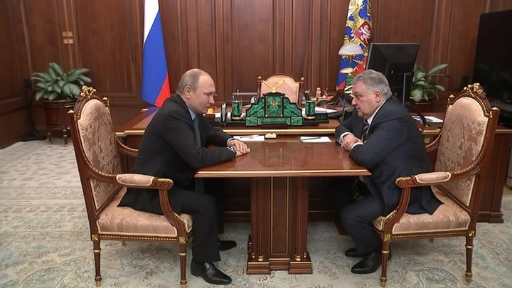 Владимир Путин обсудил будущее российской науки с главой Курчатовского института