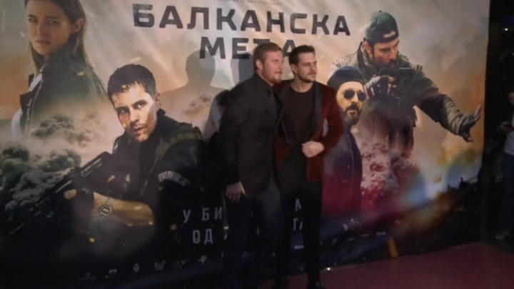 """Сербские зрители увидели """"Балканский рубеж"""""""