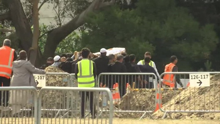 Новая Зеландия прощается с жертвами терактов