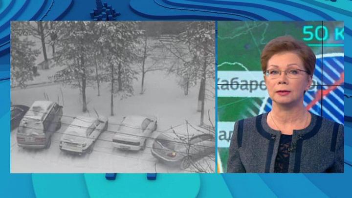 """""""Погода 24"""": в Приморье вернулась зима"""