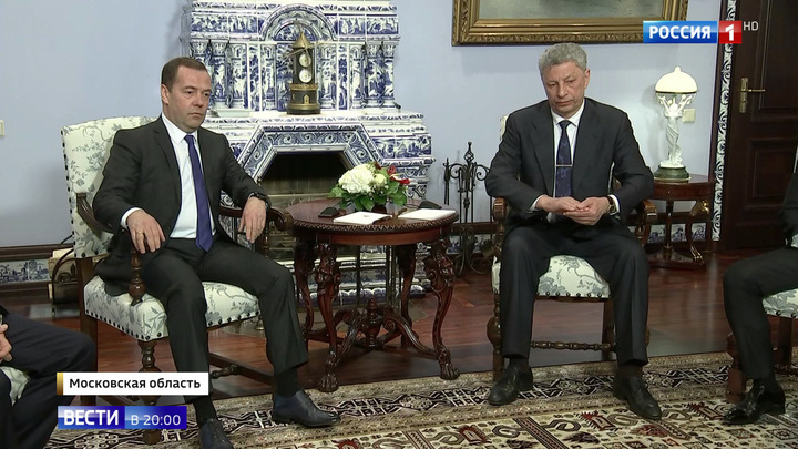 Газовый вопрос: кандидат в президенты Украины приехал в Москву договариваться