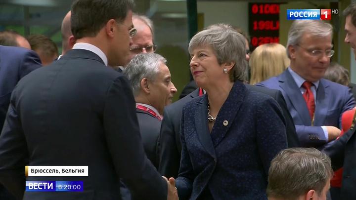 Тереза Мэй попрощалась с ЕС по СМС