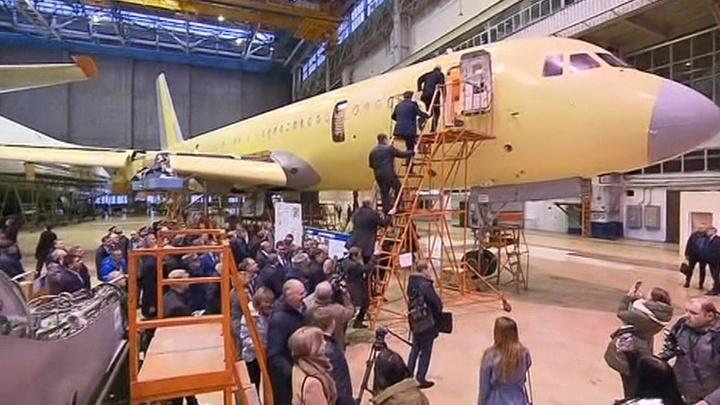 Юрий Борисов: наш самолет МС-21 пойдет в серию в 2021 году