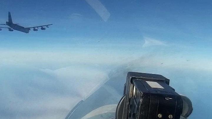 Из-за американских B-52H Россия дважды за сутки подняла в воздух Су-27
