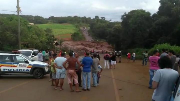 """В Бразилии вот-вот прорвется плотина """"Вали"""""""