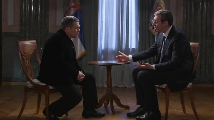 Вечер с Владимиром Соловьевым. Эфир от 24 марта 2019 года
