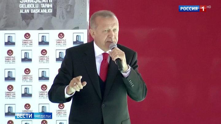 Эрдоган навел ужас на австралийцев и новозеландцев