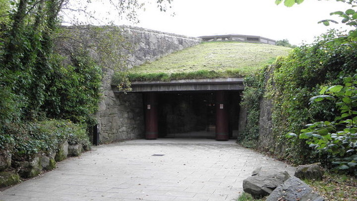 Вход в Наван Форт, г. Арма (Entrance to the Navan Fort Armagh) Author Henry Clark