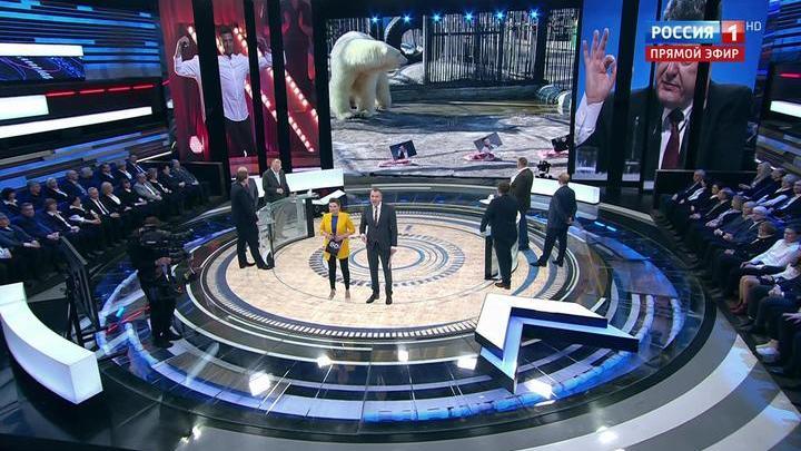 60 минут. Красноярские медведи выбрали своих кандидатов в президенты Украины