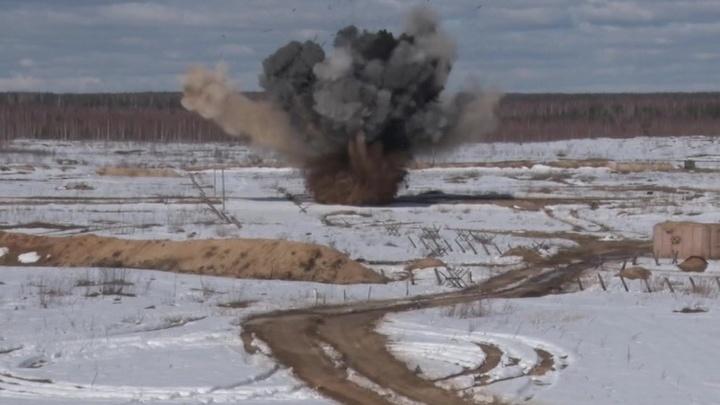 Бойцы ВДВ провели учения под Нижним Новгородом