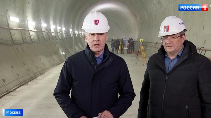 Строительство розовой ветки метро вышло на финишную прямую