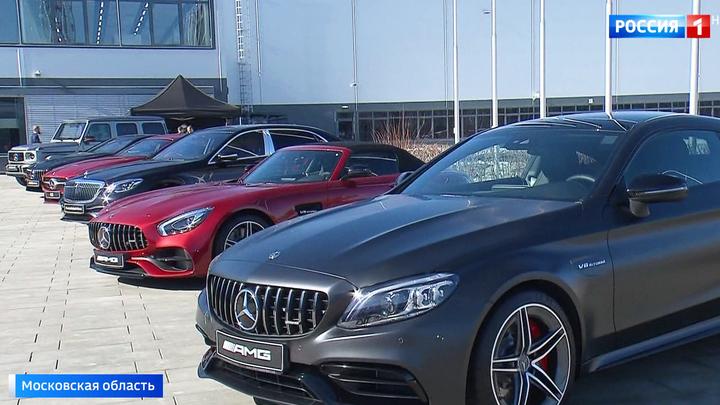 25 тысяч автомобилей в год: Путин открыл завод Mercedes-Benz в Подмосковье