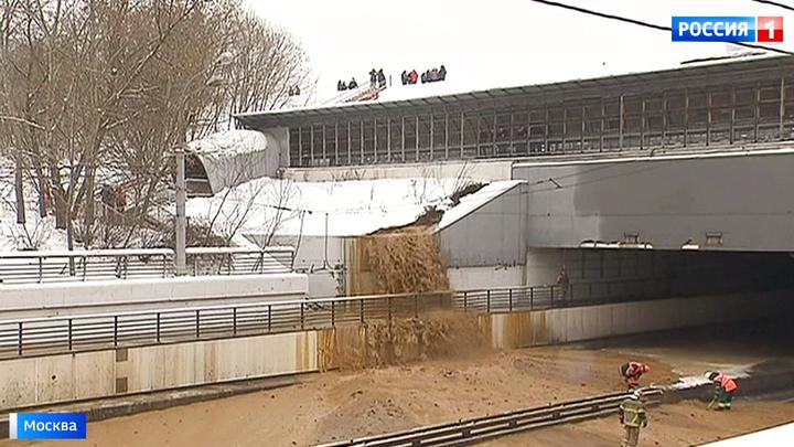 Прорыв дамбы в Тушинском тоннеле: установлена причина