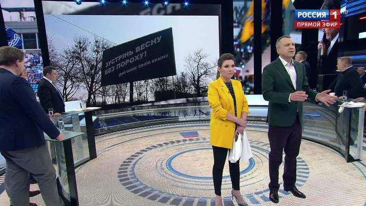 60 минут. Кандидатам в президенты Украины публично пустили кровь