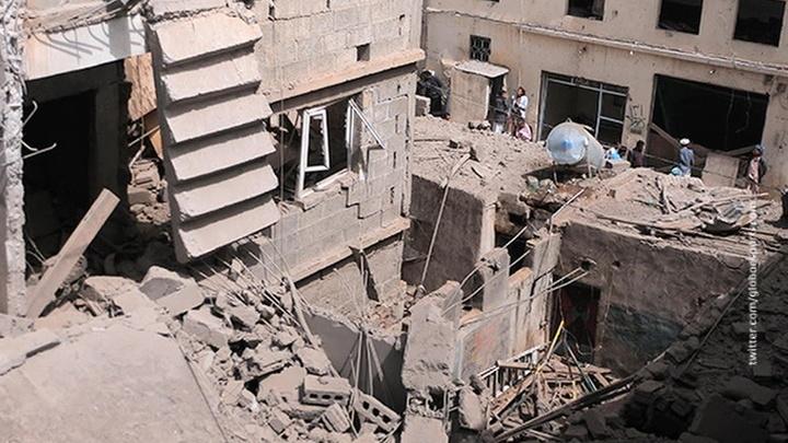 """Война в Йемене: коалиция нанесла авиационный удар по """"Ансар Аллаху"""""""