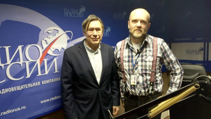 Николай Дронин и Дмитрий Конаныхин в студии